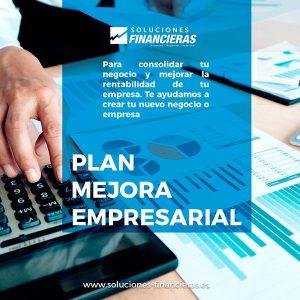 Plan de mejora empresarial